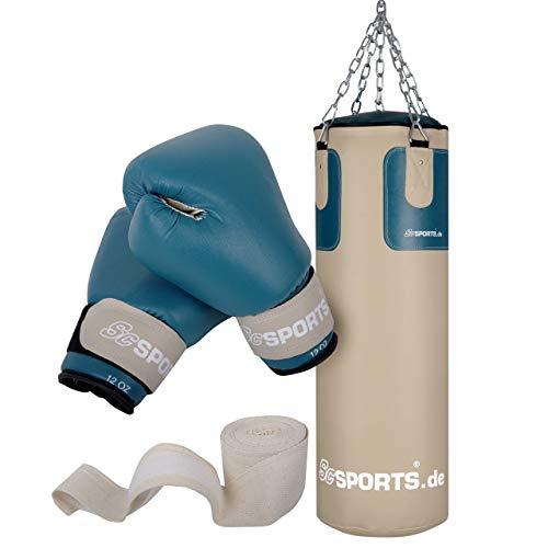 ScSPORTS Boxsack-Set mit Boxsack 25 kg, inklusive...