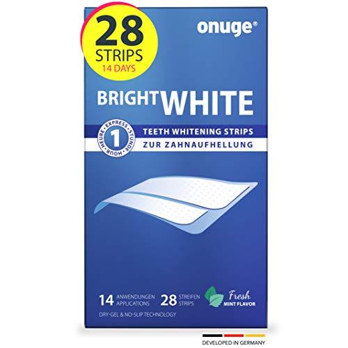 Onuge Bright White Teeth Whitening Strips –...