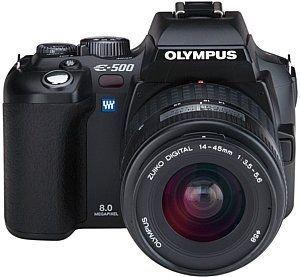 Olympus E-500 SLR-Digitalkamera (8 Megapixel)...