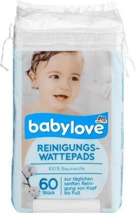 babylove Reinigungs-Wattepads, 1 x 60 St