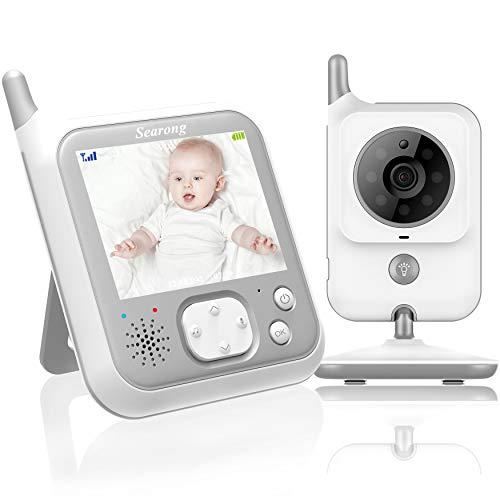 Babyphone mit Kamera Video Baby Monitor 3.2 Zoll...