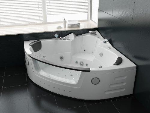 Luxus Whirlpool Badewanne 152x152 mit...