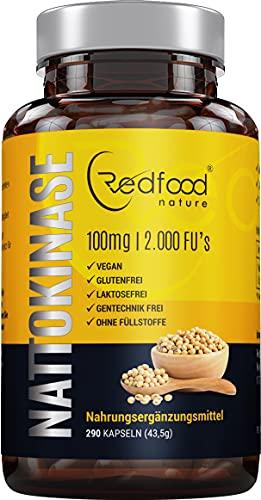 Nattokinase von Redfood® 100mg NEU mit...