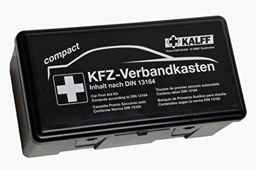 KALFF KFZ-Verbandkasten Compact DIN 13164 mit...