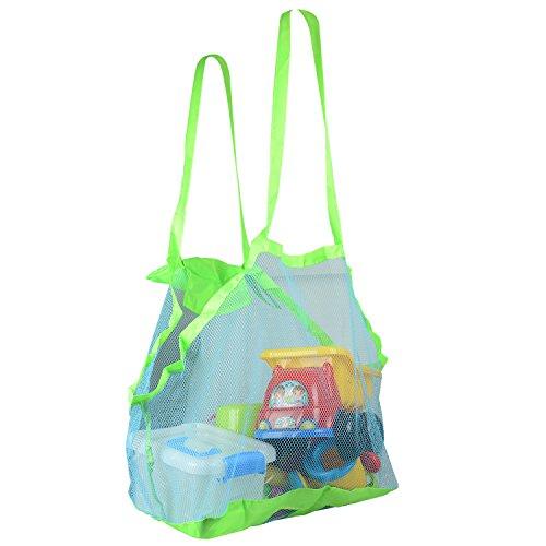 Fstoption Kinder Strand Aufbewahrung Netz Tasche...