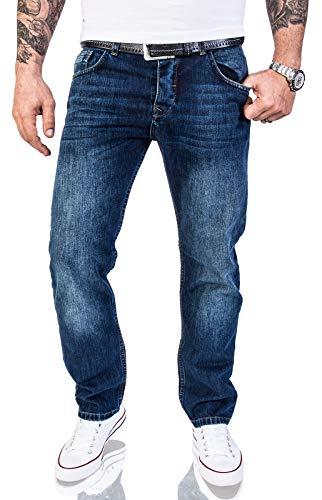 Rock Creek Herren Jeans Hose Regular Fit Jeans...