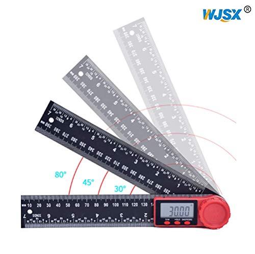 WJSX 2in1 Digitales Winkelmesser Zeroing und...