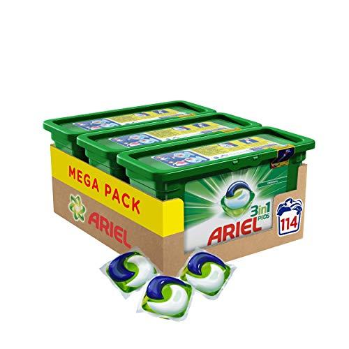 Ariel 3in1 PODS Vollwaschmittel, 114 Waschladungen...
