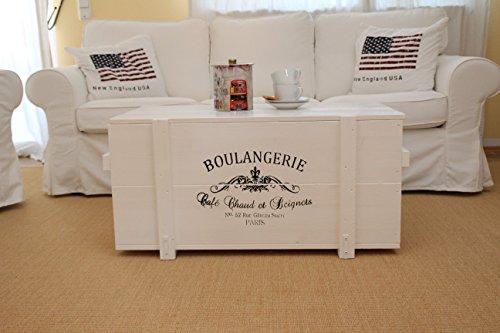 Uncle Joe´s Truhe Boulangerie Couchtisch...
