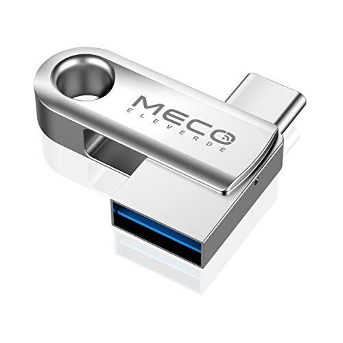 USB Stick 64GB, MECO ELEVERDE USB C Stick 2-in-1...