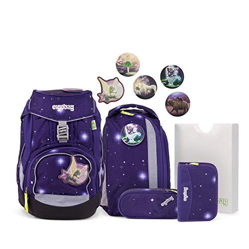 Ergobag Pack Bärgasus Glow - Lila, ergonomischer...
