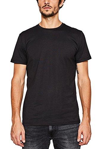 ESPRIT Herren 997EE2K819 T-Shirt, Schwarz (Black...