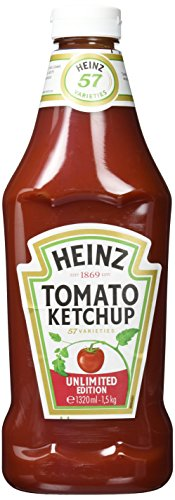 Heinz Tomato Ketchup, Squeezeflasche, 6er Pack (6...