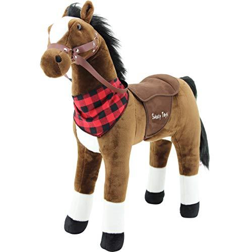Sweety Toys 7653 Plüsch Stehpferd Sicherheit !...
