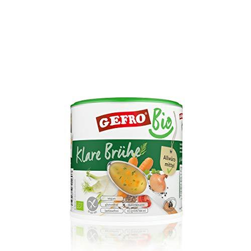 GEFRO Bio Klare Gemüsebrühe als Grundlage für...