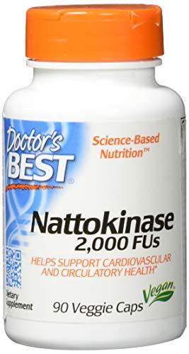 Doctor's Best, Nattokinase, 2000 FUs, 90...