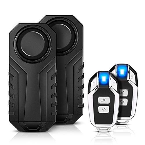Motorrad Fahrrad Alarm,YBLNTEK 2er-Pack 113 dB...
