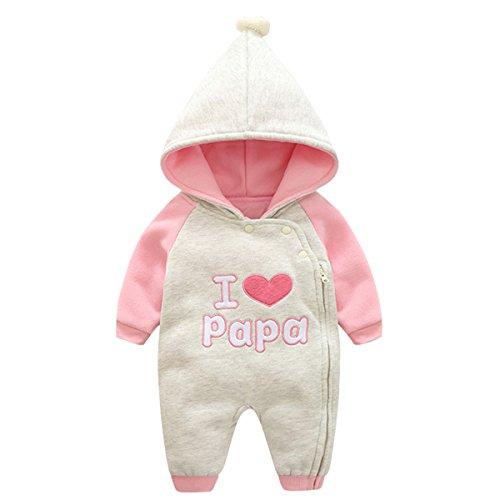 Bebone Baby Kleidung Mädchen Winter Strampler I...