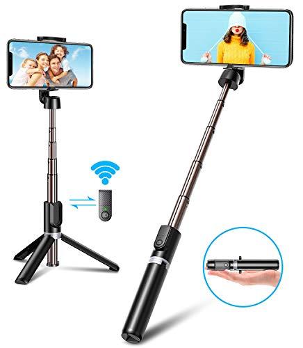Bovon Selfie Stick Stativ mit Bluetooth Auslöser,...