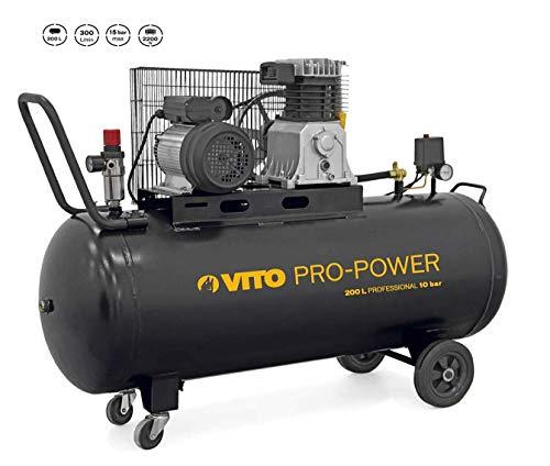 VITO Professional 200 Liter Kompressor 4 PS 15 bar...
