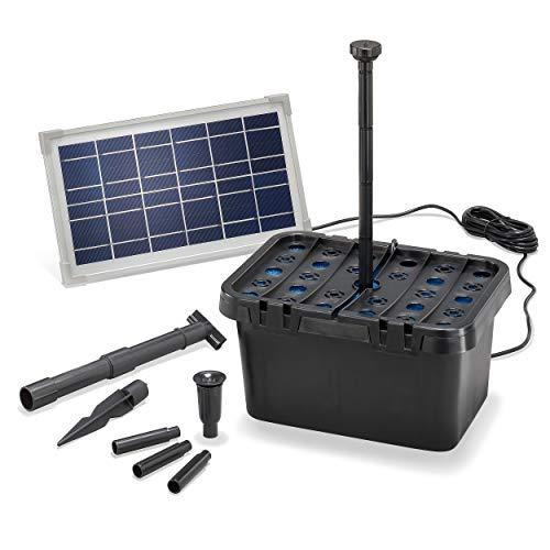 Solar Teichfilter Komplettset Professional - 380...
