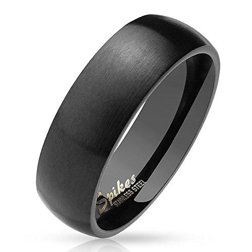 Bungsa 60 (19.1) schwarzer Ring für Damen &...