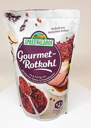 Spreewaldhof Fix & Fertig Gourmet-Rotkohl, mit...