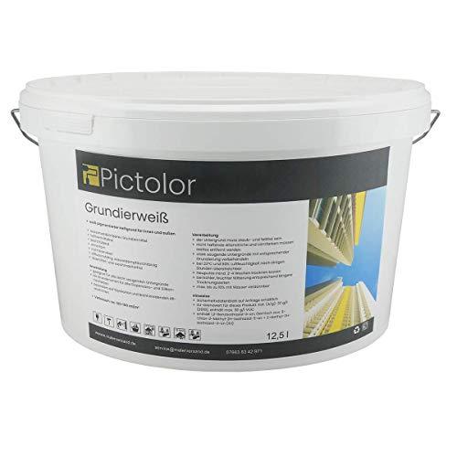 Pictolor Grundierweiß 12,5 Liter