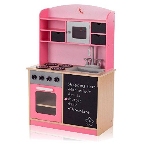 Baby Vivo Kinderküche Spielküche aus Holz...