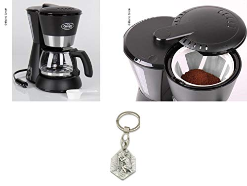 Zisa-Kombi Kaffeemaschine 230V, 600W, schwarz,...