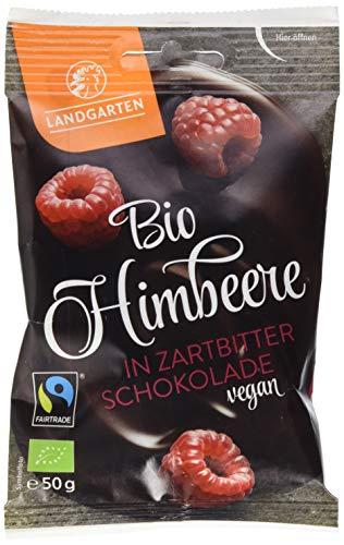 Landgarten Bio Himbeere in Zartbitter-Schokolade,...