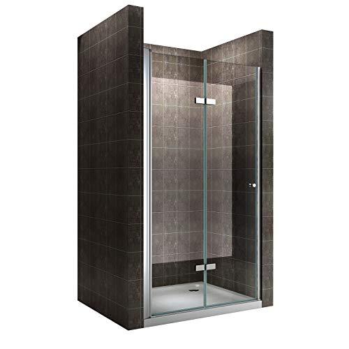 Einzelfalttür Falttür Duschtür Duschabtrennung...