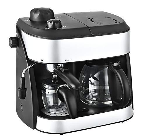 Team Kalorik 2-in-1 Kaffee- und Espressomaschine,...