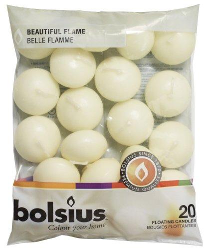 bolsius Schwimmende Kerzen , Paraffin-Wachs,...