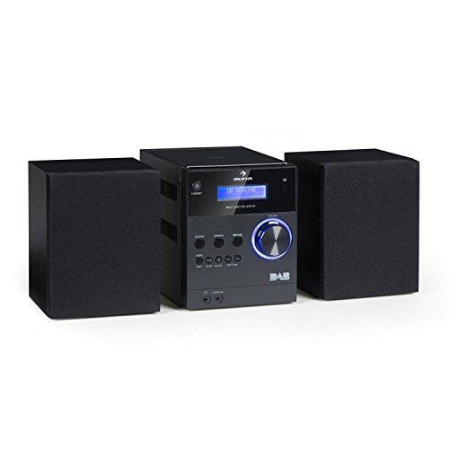 auna MC-20 DAB - Micro-Stereoanlage,...