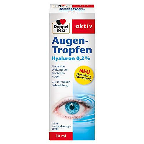 Doppelherz Augen-Tropfen Hyaluron 0,2% –...