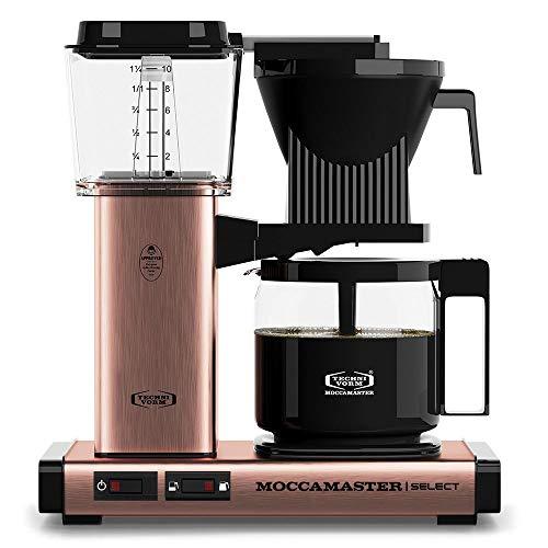 Moccamaster 53971 KBG Select Filterkaffeemaschine,...