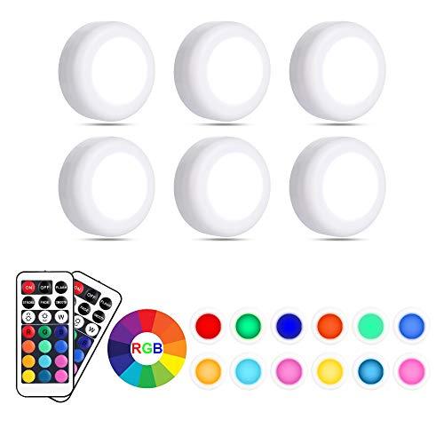 Eterbiz RGB Schrankbeleuchtung LED Nachtlicht mit...