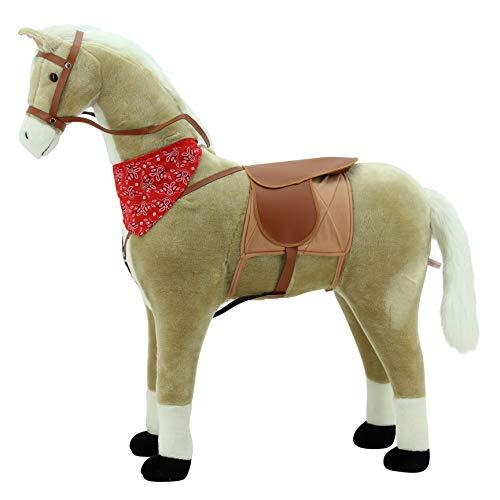Sweety Toys 10363 Stehpferd Haflinger Reitpferd...