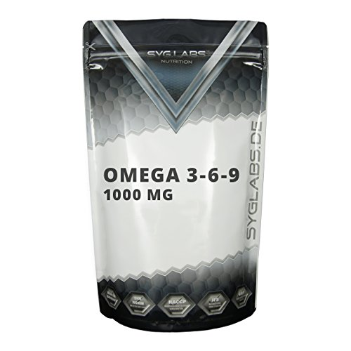 Syglabs Nutrition Omega 3-6 - 9, 1000 mg...