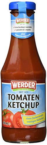 Werder Ketchup,Tomaten Ketchup 'Ohne Zuckerzusatz'...