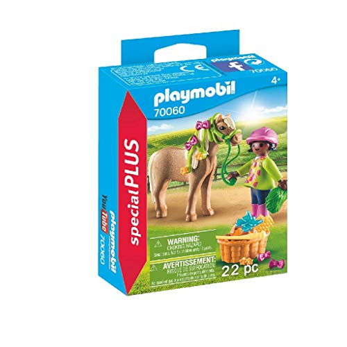 Playmobil 70060 Special Plus Mädchen mit Pony,...
