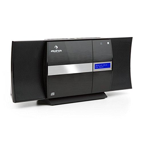 auna V-20 - Kompaktanlage mit CD-Player und DAB+...