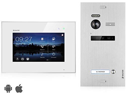 BALTER EVO Video Türsprechanlage ✓ Touchscreen...