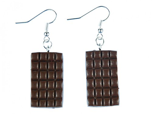 Miniblings Schokolade Ohrringe Hänger Vollmilch...