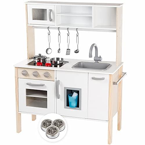 Kinderplay Kinderküche Große Holzküche für...