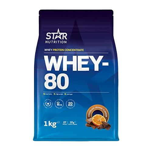 Star Nutrition® | Whey Protein Pulver 80 | Reines...