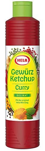 Hela Curry Gewürz Ketchup delikat 800 ml (1 x 800...