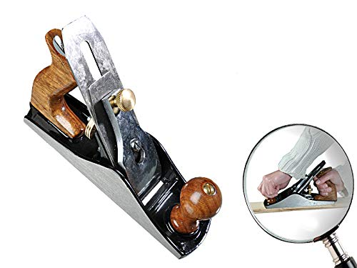 Handhobel Nr. 4 50x2mm Griff aus Rosenholz mit...
