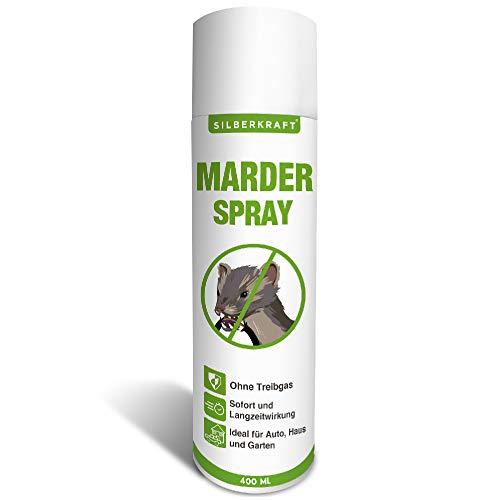 Silberkraft Marderspray 400 ml, Marderabwehr für...